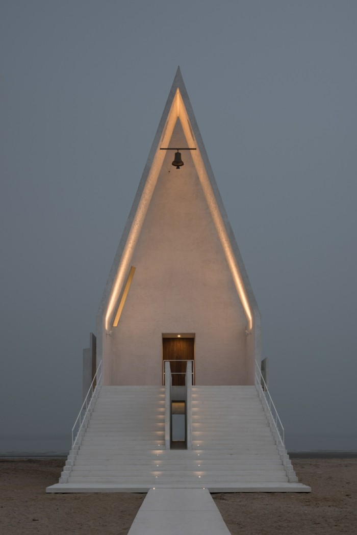 die kirche bleibt im dorf seashore chapel verctor architects
