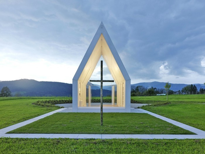 die kirche bleibt im dorf seashore chapel verctor architects2