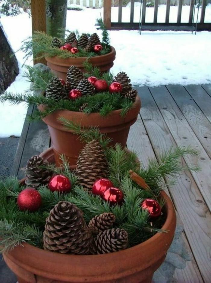Diy deko 30 herbstliche deko ideen mit zapfen basteln for Weihnachtliche deko ideen