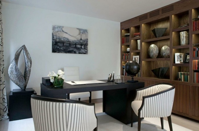 Home decor Living room as you unite the living area with the home office
