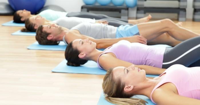 gesund abnehmen pilates übungen machen