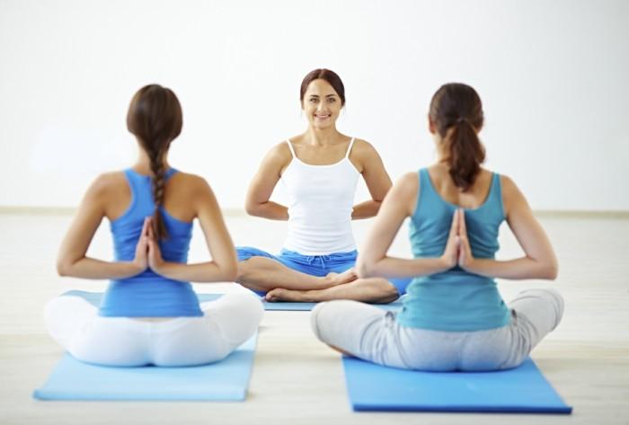 gesund abnehmen tipps trainieren joga