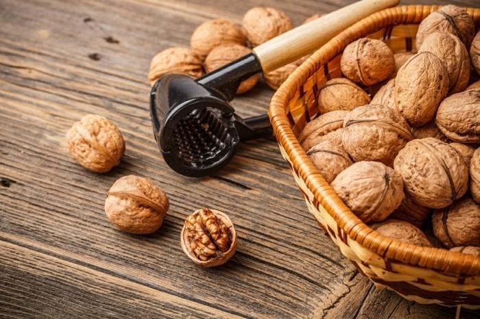 gesunde ernährung walnüsse essen fettige produkte
