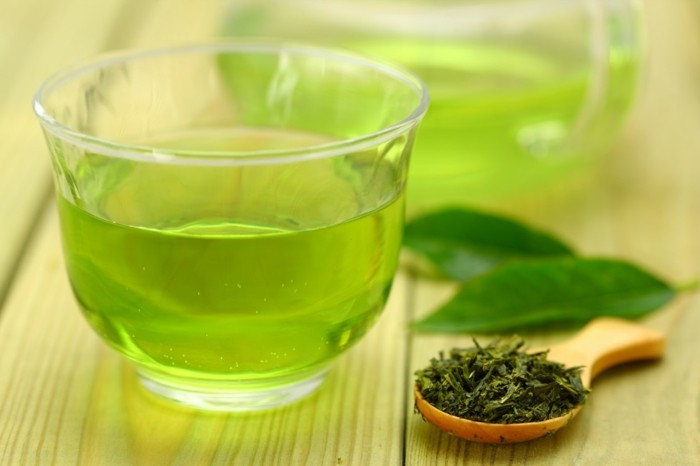 gesunder tee diät halten tipps