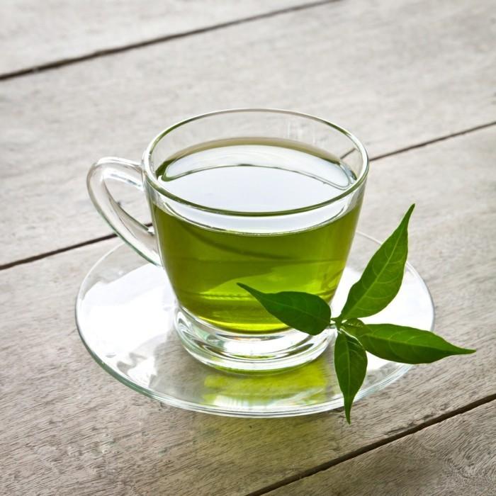 gesunder tee grüner tee gesundheit