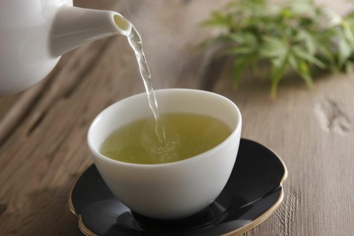 gesunder tee trinken abnehmen diät richtig halten
