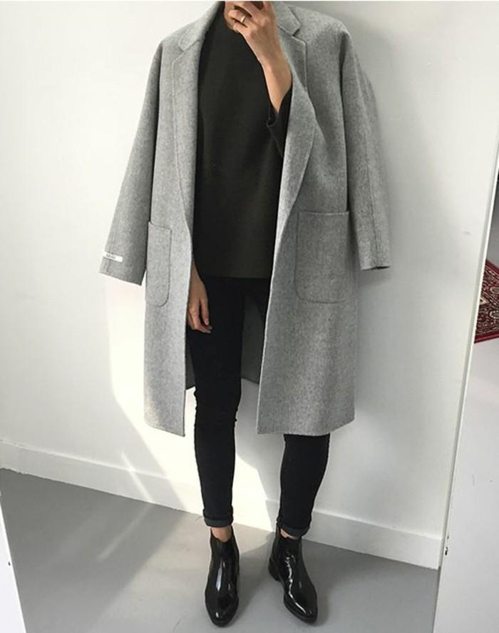 Womit L 228 Sst Sich Ein Grauer Mantel Kombinieren 70 Outfits