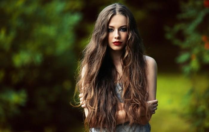 haarpflege tipps schönes haar langes haar wellig