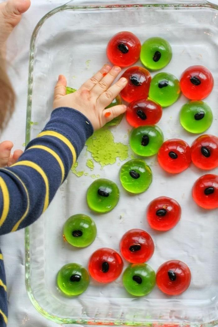 halloween ideen kinder süßigkeiten zubereiten