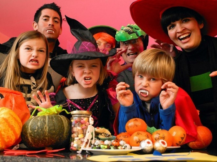 halloween ideen kinder sich amüsieren kinderparty ideen