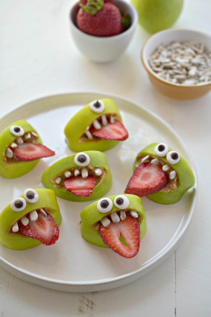 Deko halloween in form von fr chten zubereiten - Halloween ideen ...