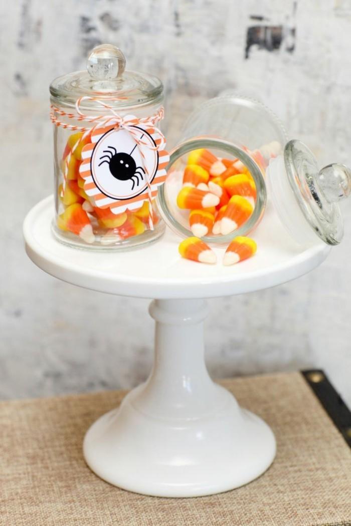 halloween ideen süßigkeiten kinder lustige ideen