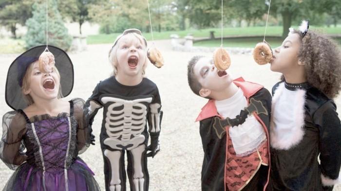 halloween ideen spiele essen