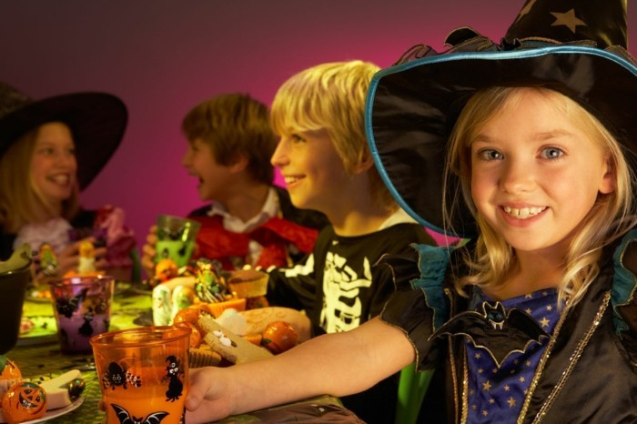 halloween party ideen festlicher tisch