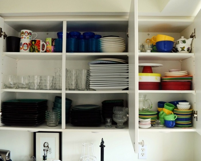haushalt tipps wohnideen küche ordnung geschirr sammeln