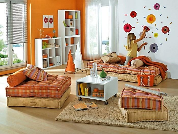 hausrenovierung dekoration wandgestaltung wanddeko wandtattoo kinderzimmer wohnzimmer