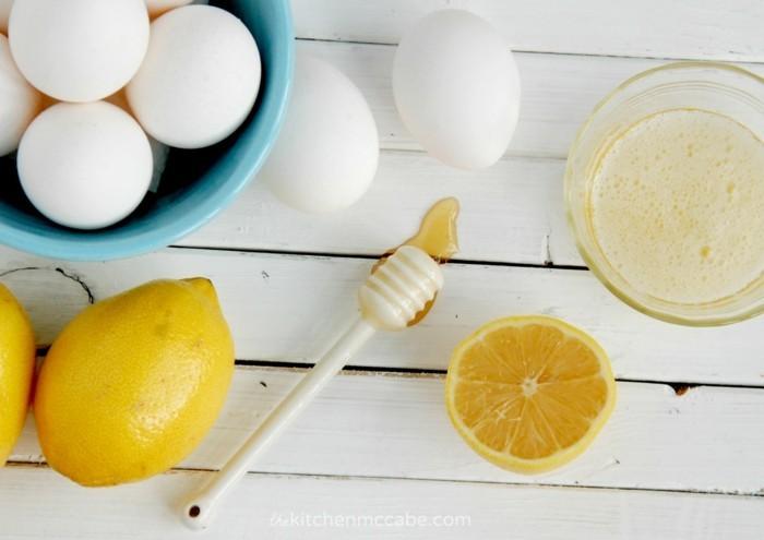hautpflege tipps hausgemachte maske zitrone eier honig