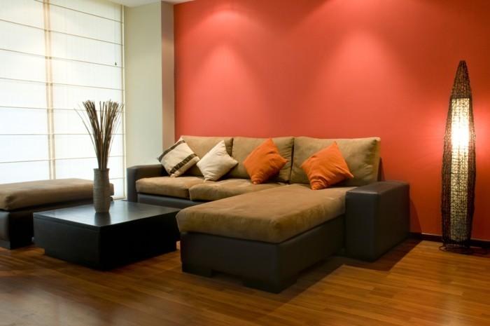 herbst deko ideen farbgestaltung wandgestaltung wohnideen7