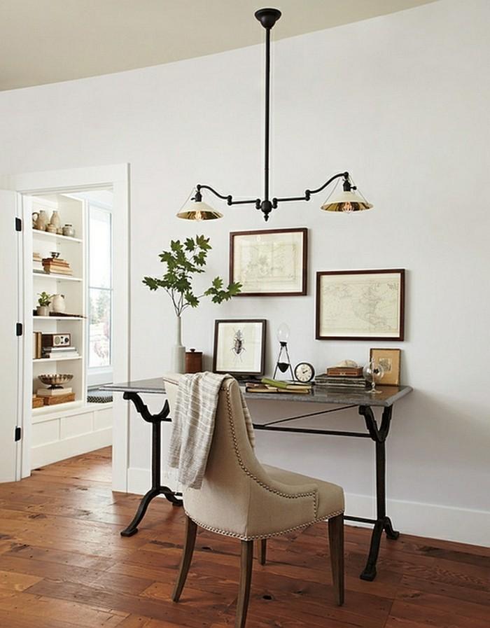 Moderne inneneinrichtung 63 ideen wie sie das home office organisieren - Chandeliers for small spaces image ...