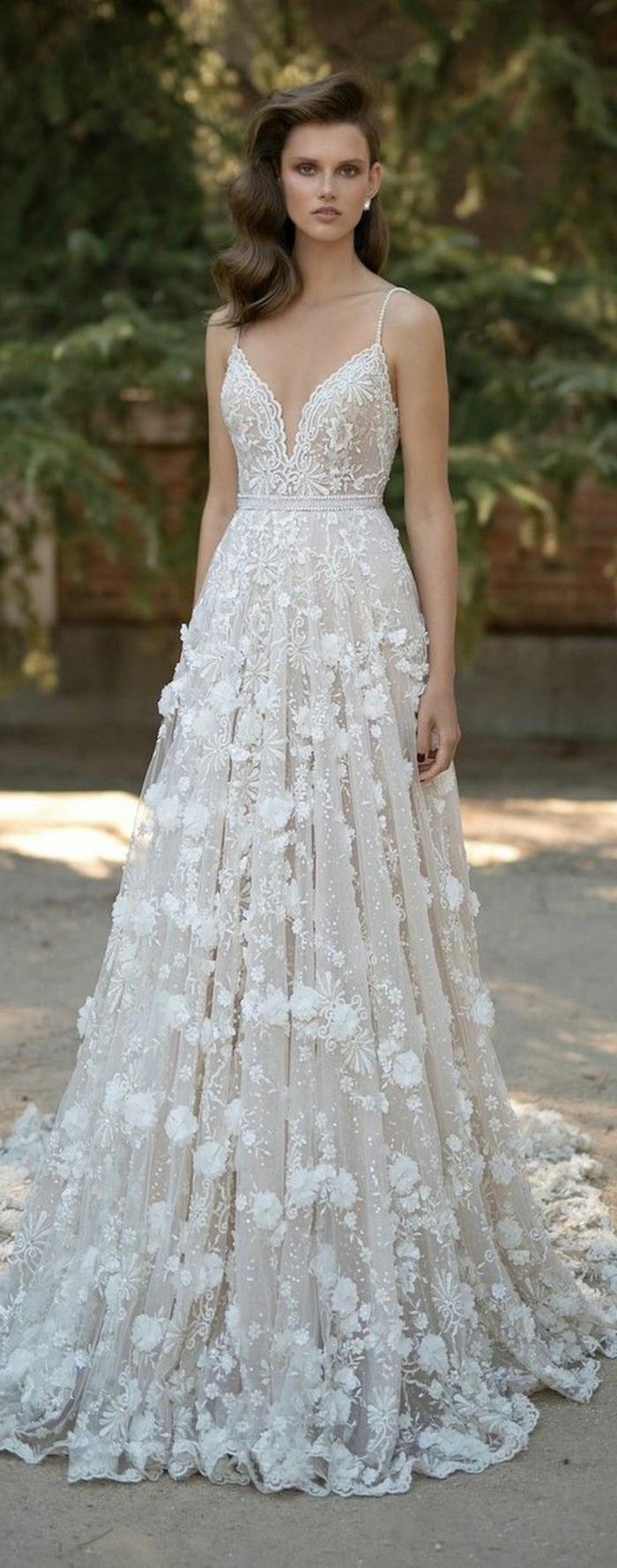 """Hochzeitskleid auswählen - """"Blüten"""" und andere zärtliche ..."""