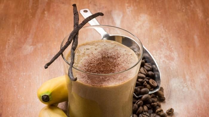 ist kaffee gesund bohnenkaffee smoothies vanille banane