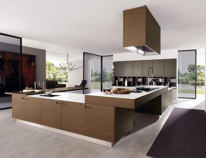 küchengestaltung ergonomische kuche modernes kuchendesign kucheninsel