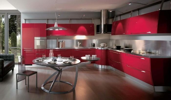 kuchengestaltung italienisches design moderne kuche