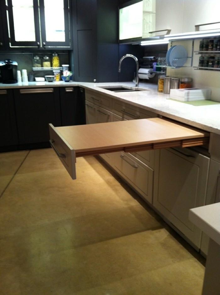 küchenideen funktionale möbel tisch wohnideen