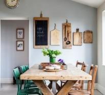 Küchen Ideen – 30 Einrichtungsideen, wie Sie den kleinen Raum gestalten