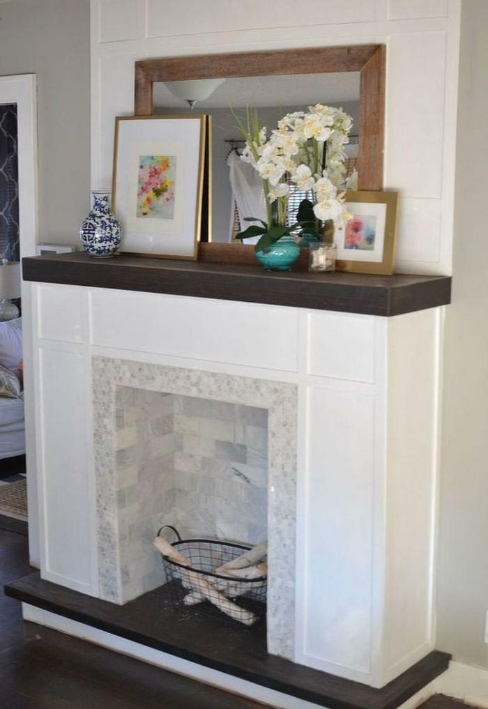 dekovorschläge wohnzimmer essbereich küchenzeile wohnwand holz weiß