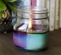 Kerzen Deko - Tolle DIY Ideen, wie Sie Deko mit ...