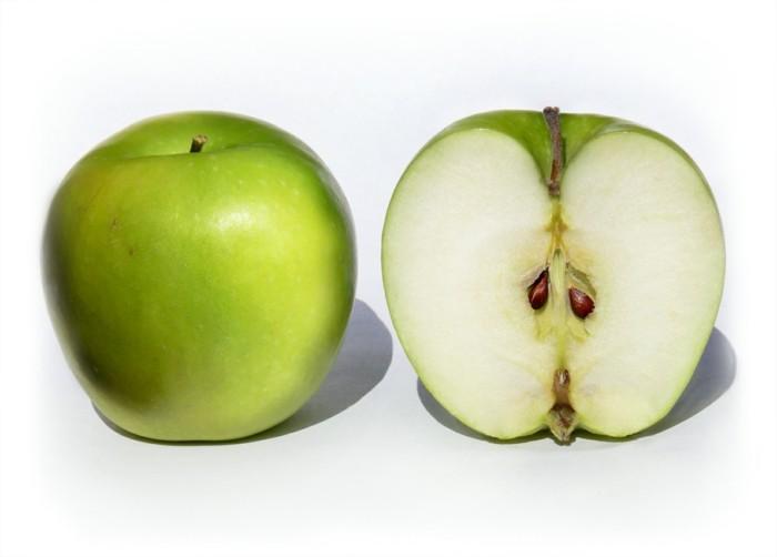 lebe gesund tee diät obst essen apfel