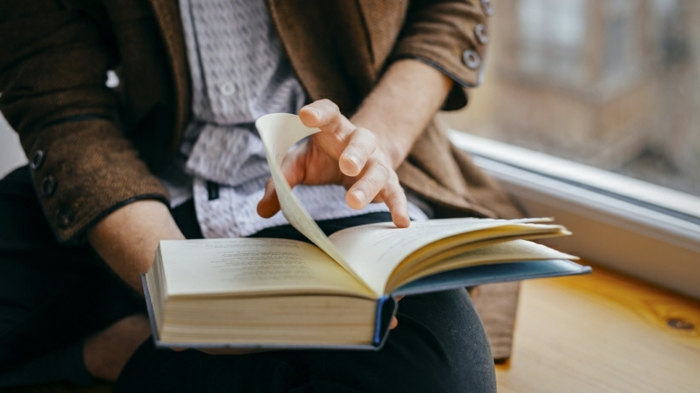 lebe gesund tipps hobby haben bücher lesen richtige ernährung