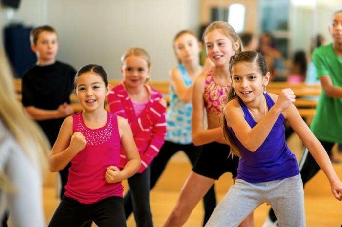 lebe gesund tipps kinder trainieren tanzen