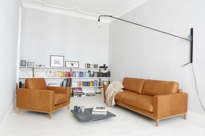 wohnzimmer einrichten ideen ledersofas tom sofaelegant wohnzimmer einrichten