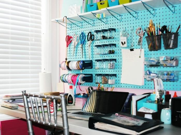 moderne inneneinrichtung home office kreative ideen
