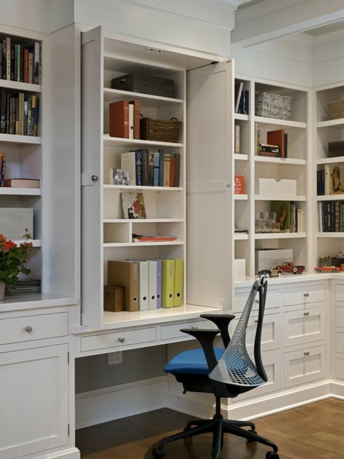 moderne inneneinrichtung ideen home office cooler arbeitsstuhl