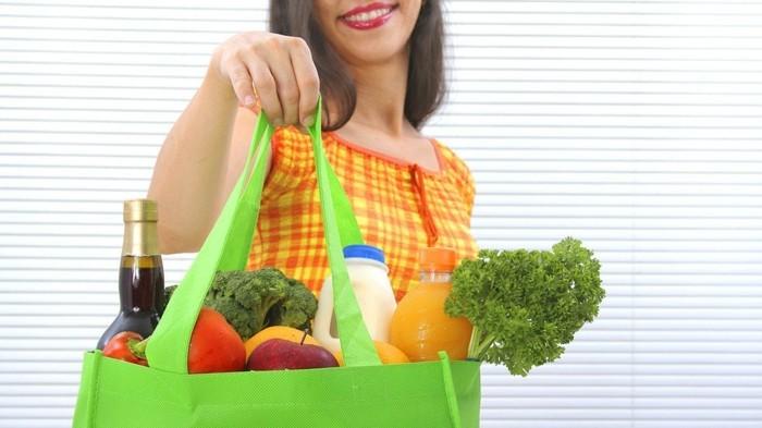 nachhaltig einakufen nachhaltige mode einkaufswagen einkaufstasche