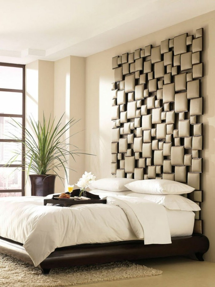 Schlafzimmer Gestaltung - Kreative Neugestaltung des Kopfbrettes ...