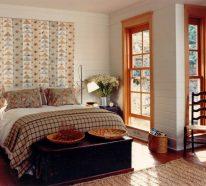 Schlafzimmer Gestaltung – Kreative Neugestaltung des Kopfbrettes lässt das Schlafzimmer ganz neu erscheinen