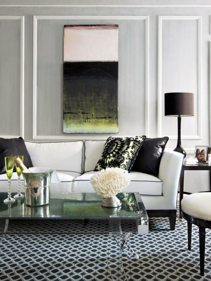 Wohnzimmer dekor wohnideen for Dekoration wohnung petrol