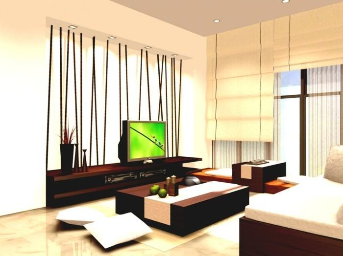 Fernseher wohnzimmer gestaltung - Feng shui wohnzimmer ...
