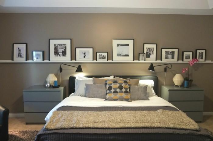 Schlafzimmer Dekorieren Gestalten Sie Ihre Wohlfühloase: Bilderleisten Sind Eine Große Hilfe Bei Der