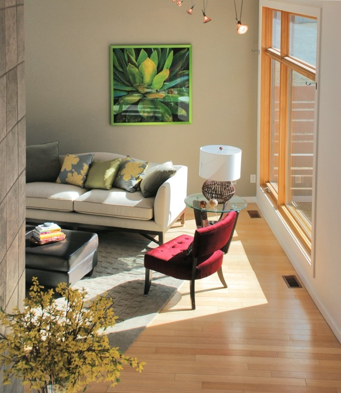 wohnzimmergestaltung ideen - moderne beispiele und wohnzimmer ...