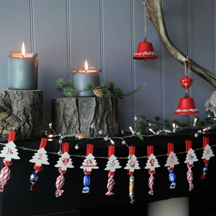 adventskalender online adventskranz weihnachtsdekoration selber machen