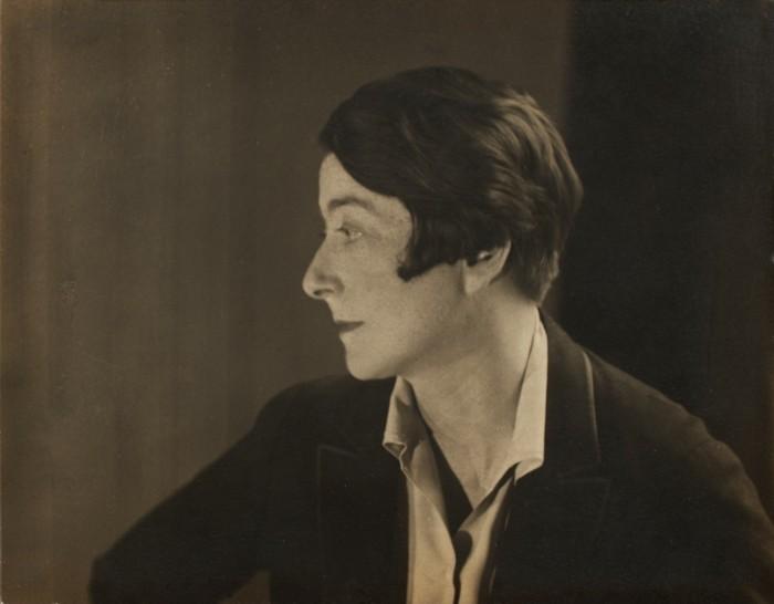 Berenice Abbott Photograph of Eileen Gray, 1927, NMIEG:2003.569, Eileen Gray Collection II