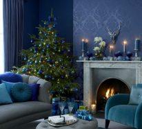 Deko zu Weihnachten – Schöne Farbpaletten zum Fest