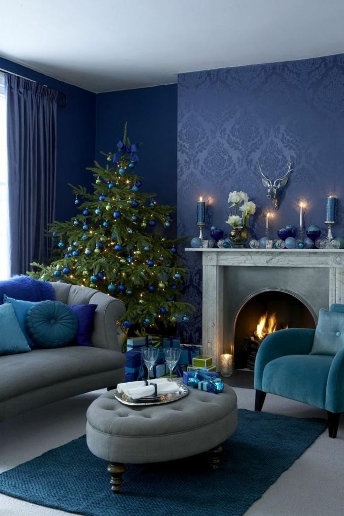 Wohnzimmer Deko Weihnachten Haus Design Ideen