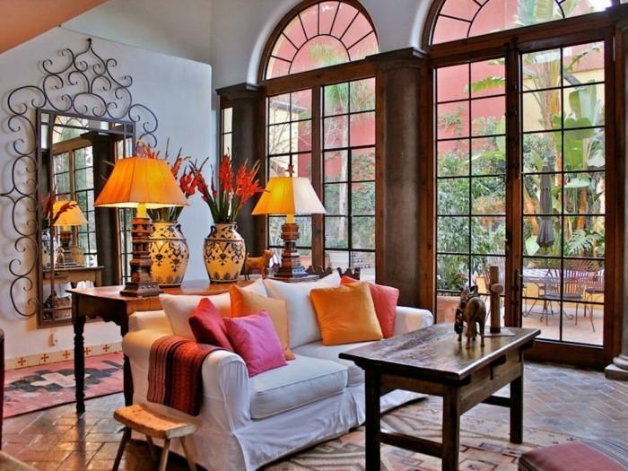 lebensbejahende einrichtungsbeispiele im mexikanischen stil. Black Bedroom Furniture Sets. Home Design Ideas