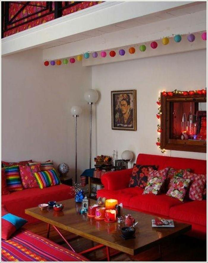 einrichtungsbeispiele mexikanischer stil wohnideeн 2